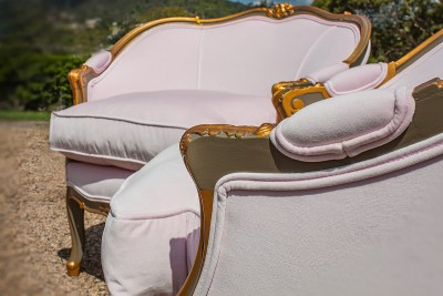 Buenos Aires French Tub Chairs Side Detail