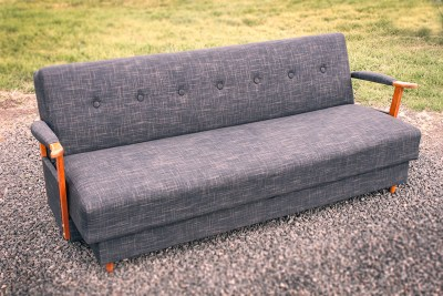 Grey Retro Converter Lounge