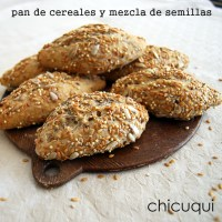 Cómo hacer pan de cereales y mezcla de semillas