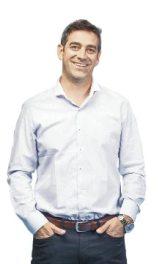 Felipe Braun interpreta a Vicente, el patrón del fundo Santa Piedad.