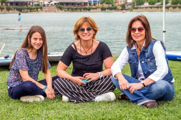 Colomba Jeanneret, Silvia Torres y Claudia Anwandter