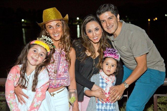 Paola Cortés, Macarena Gonzalez, Andres Acuña