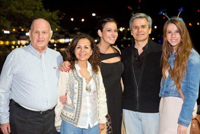 Pedro Pablo Cruz, Maria Antonieta Calisto, Pabla Olavarría, Manuel Suárez, Josefina Suárez