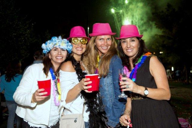 Pamela Gómez, Carola Villagran, Claudia del Rio, Sandra Martinez