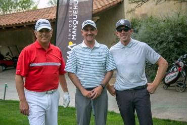Sergio Morales, Ricardo Gualda y David Franks