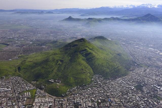 Cerro Renca © Guy Wenborne, Gentileza Fundacio?n Cerros Isla