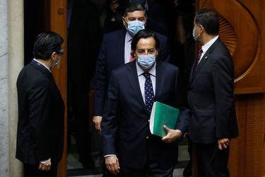 """Víctor Pérez ante el Senado: """"Soy absolutamente inocente de los cargos que aquí se me imputan y que no tienen ningún fundamento"""""""