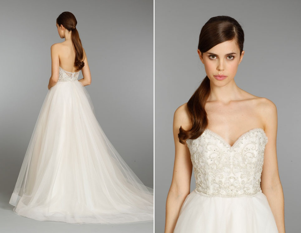 20 Gorgeous Wedding Dresses With Sparkle For The Season