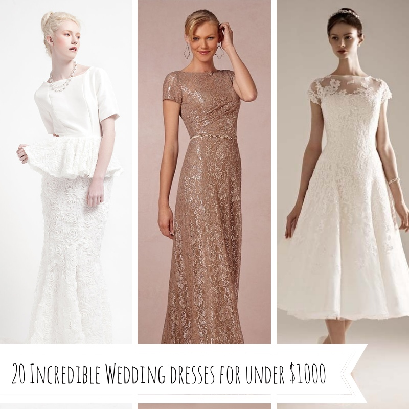 20 incredible wedding dresses