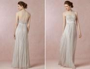 Light Silver Bridesmaids Dresses
