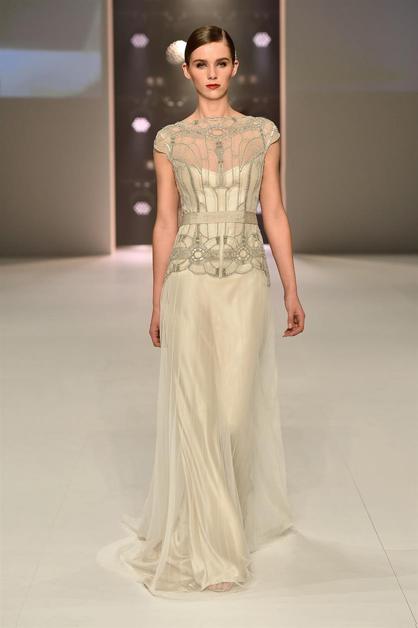 Magical Art Deco Wedding Dresses from Gwendolynne  Chic