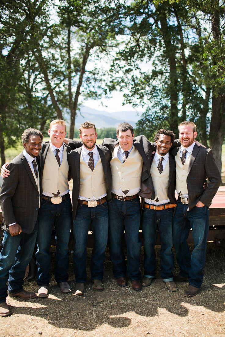 Country Wedding Groomsmen Attire