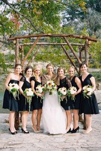 30 Beautiful Little (and Long) Black Bridesmaid Dresses ...