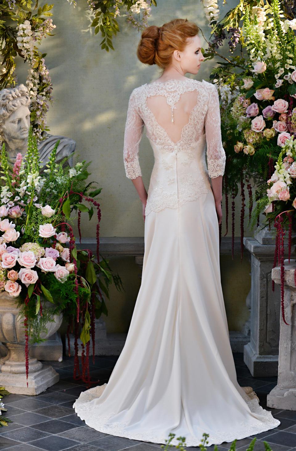 30 Exquisite  Elegant Long Sleeved Wedding Dresses  Chic Vintage Brides