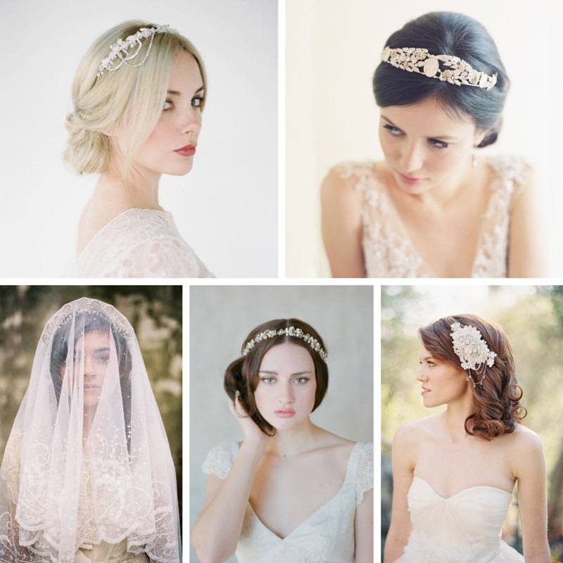 5 perfect vintage bridal hair accessories