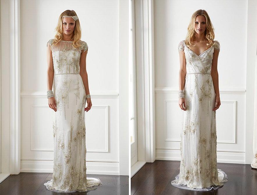 20 Art Deco Wedding Dress with Gatsby Glamour  Chic