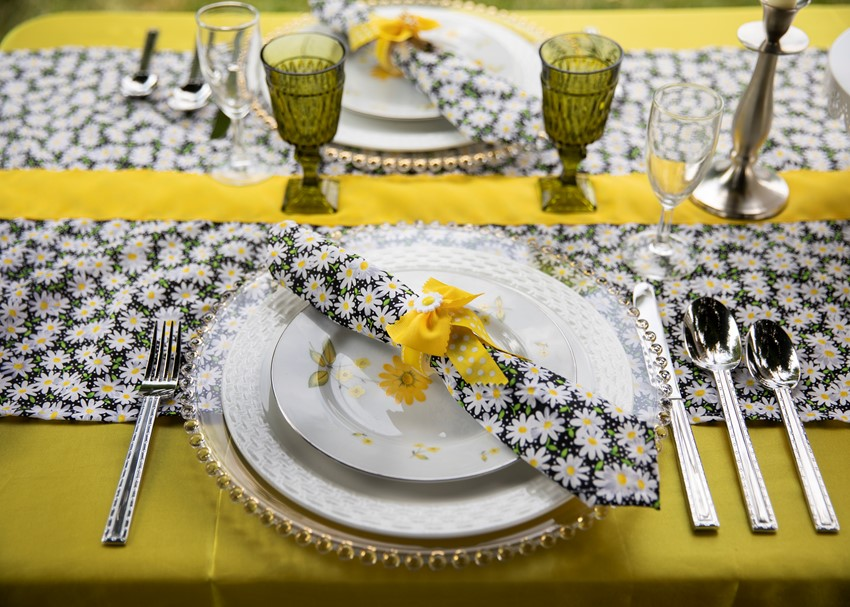1960s Wedding Place Setting