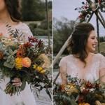 Fall Boho Wedding Inspiration With Mid Century Vibes Chic Vintage Brides Chic Vintage Brides