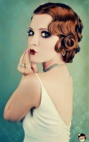 finger waves chic vintage brides