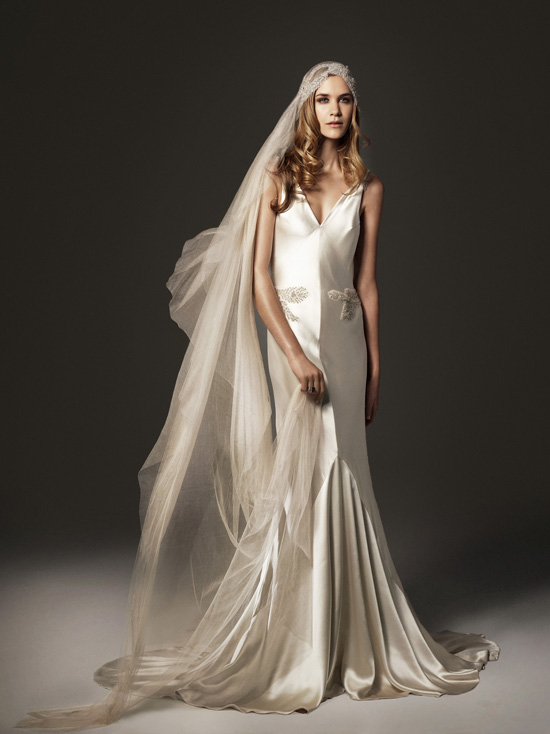 Old Hollywood Glamour and Exquisite Embellishment from Johanna Johnson  Chic Vintage Brides