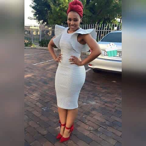From South Africa - This attractive woman looks smart and stylish