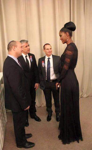 Miss Jerusalem, Israel - A tall and elegant black woman