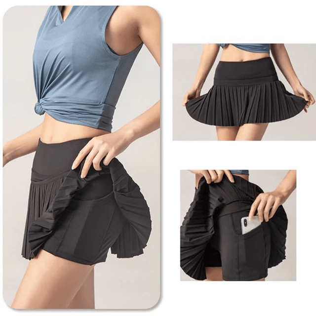 Skorts - Skirt Shorts Pants for Girls ActiveWear for Sports Gymnastics and Cleaning