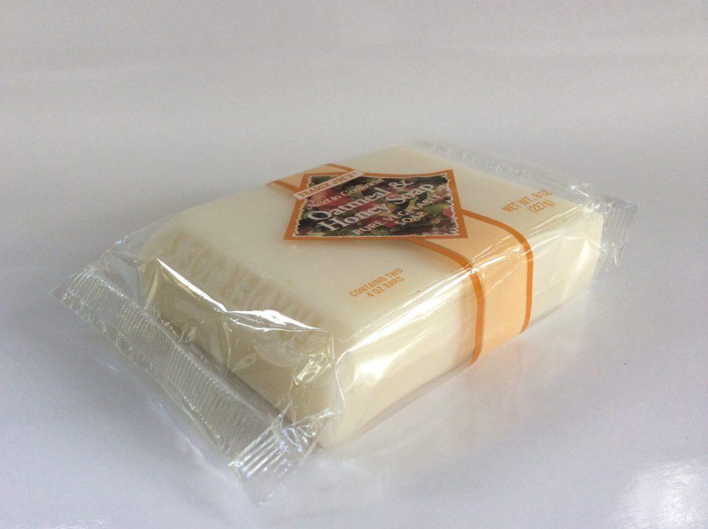 Trader Joe's Oatmeal & Honey Soap (Two 4.0 oz bars)
