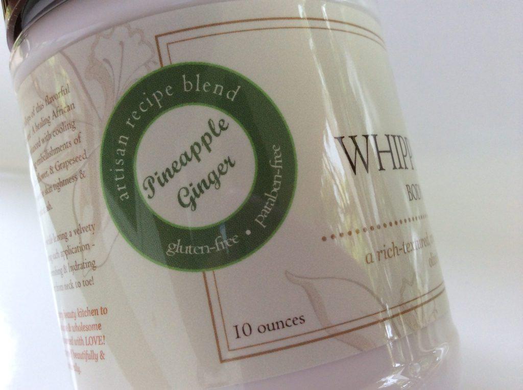 Bekura Beauty Beauty Whipped Custard Body Soufflé Cream in Pineapple Ginger (8.0 oz)