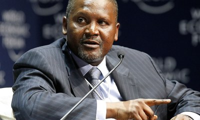 Dangote reportedly loses N240 billion in five hours due to coronavirus