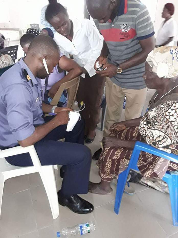 Queen Bella attends to Odioma Community via Navy Medical Rhapsody (SEE PHOTOS)