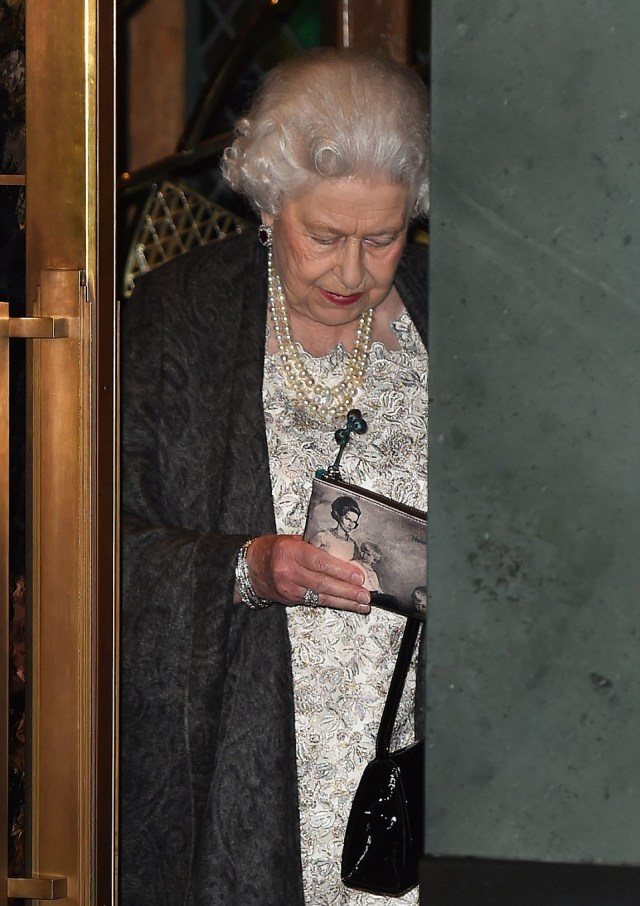 Queen Of England Steps Out For A Friend's Birthday