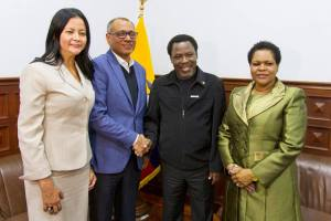 TB Joshua Treks Into Deep Rainforest, See what he was caught doing