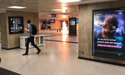 TERROR IN BELGIUM Brussels explosion sees 'suicide bomber blow himself up' at Central Station