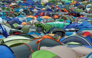 Glastonbury 2017 swingers and prostitutes descend on the festival in motorhomes and tents for X-rated fun with party-goers