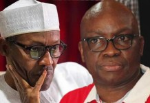 Boko Haram: 'Your time is up' – Fayose attack's Buhari over death of soldiers in Matele