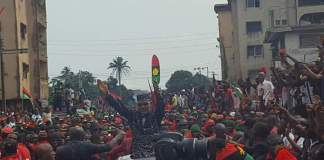 Breaking: Igbo Assembly advices Buhari what to do to Nnamdi Kanu concerning Biafra