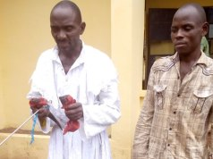 Prophet and accomplice kill girl for ritual [Photos]