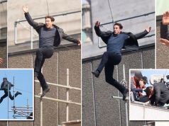 Video/Photos: Tom Cruise injures himself jumping off building as Mission Impossible 6 stunt goes wrong