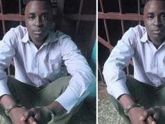 See photo of Man who parades himself as Remi Tinubu's P.A arrested