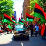 Shocking! 5-year-old boy asks his father when are leaving Nigeria to our Biafra?