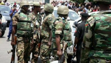 Nigerian Army attacked protesting youths