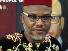 Mazi Nnamdi Kanu resurfaces in Biafra land