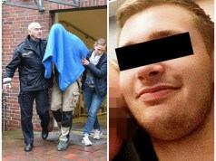 First picture of German kitchen fitter who 'abused girlfriend's four-year-old daughter in dark web paedo vid'