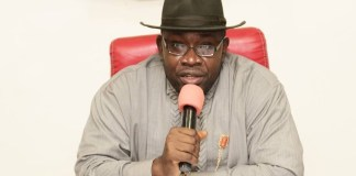 Governor Dickson, Bayelsa State Governor Seriake Dickson of Bayelsa State has declared that Nigeria will explode if not restructured. The governor addressed