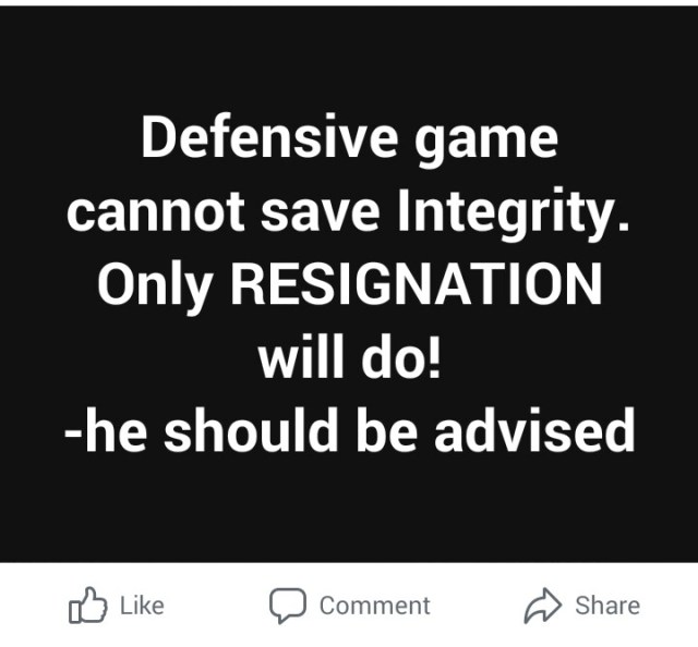 Buhari's integrity is messed up