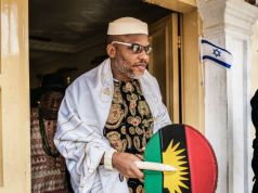 NEWSBiafra: Nnamdi Kanu's suit against FG stalls as lawyer speaks on his whereabouts