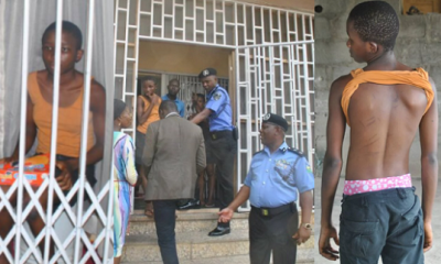 13-year-old housemaid rescued by police after locked for weeks in Lagos