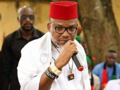 Biafra: FG reveals Nnamdi Kanu's whereabouts