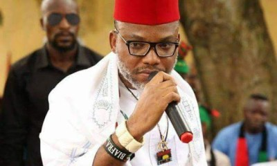 Nigeria Decides: Nnamdi Kanu attacks Amaechi, tells Igbos who to vote in Rivers, Akwa Ibom, others